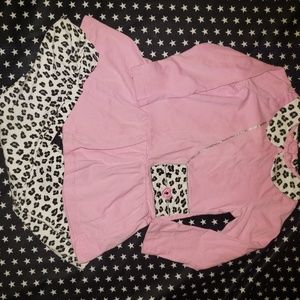 Little Me Toddler Girls Leopard Print Outfit